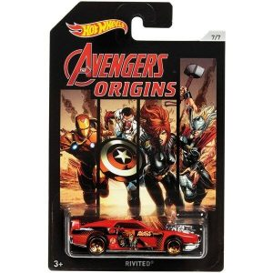 HOT WHEELS MARVEL AVENGERS VEHICLES ASSORTED - GLJ96