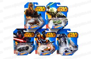 HOT WHEELS STAR WARS CAR ASSORTMENT - CGW35