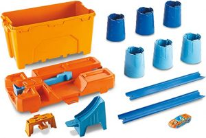 HOT WHEELS TRACK BUILDER BARREL BOX PLAYSET - GCF91