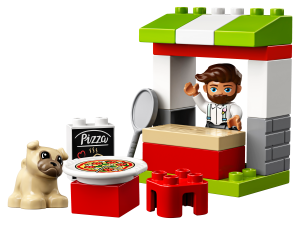 LEGO PIZZA STAND - 10927