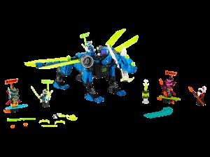 LEGO JAY'S CYBER DRAGON - 71711