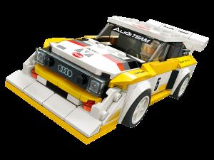 LEGO 1985 AUDI QUATTRO S1 - 76897