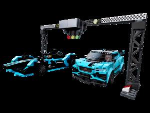 LEGO JAGUAR FORMULA E & I-PACE SV RACE CAR - 76898