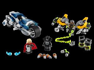 LEGO AVENGERS SPEEDER BIKE ATTACK - 76142
