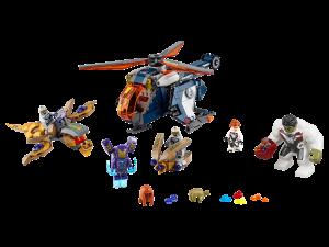 LEGO HULK HELICOPTER RESCUE - 76144