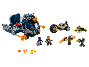 LEGO AVENGERS TRUCK - 76143