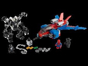 LEGO SPIDERJET VS VENOM MECH - 76150