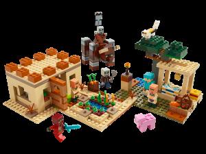 LEGO THE ILLAGER RAID - 21160