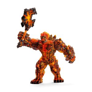 SCHLEICH LAVA GOLEM WITH WEAPON - 42447
