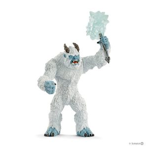 SCHLEICH ICE MONSTER WITH WEAPON - 42448