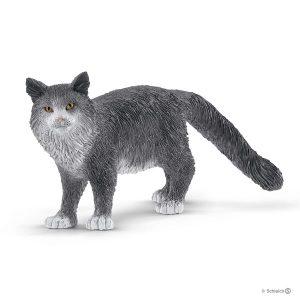SCHLEICH MAINE COON CAT - 13893