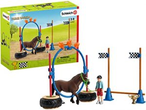 SCHLEICH PONY AGILITY RACE - 42482