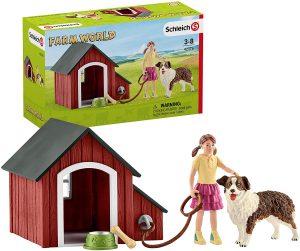 SCHLEICH DOG KENNEL - 42376