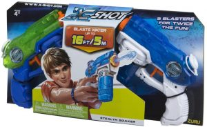 X SHOT STEALTH SOAKER TWIN PACK
