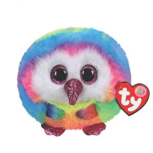 TY PUFFIES OWEN OWL