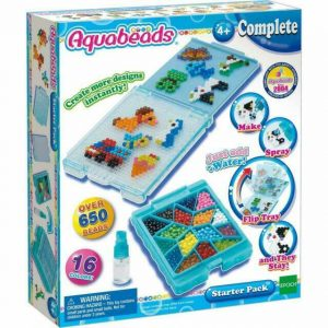 Aquabeads 16 Colours Starter Pack Creative Play - 650 Beads