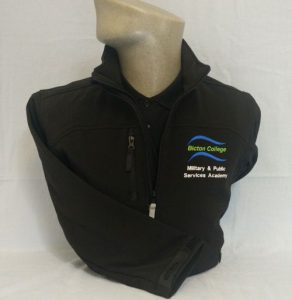 Bicton College Military & Public Services Soft Shell Jacket