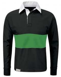 Reversible Rugby Shirt with Contrast Colour Band