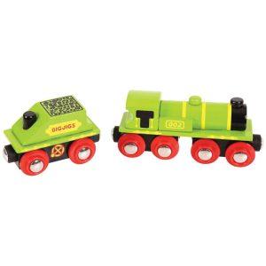 BIG JIGS GREEN ENGINE & TENDER