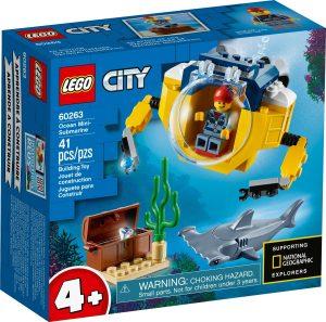 LEGO OCEAN MINI-SUBMARINE -  60263