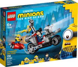 LEGO UNSTOPPABLE BIKE CHASE - 75549