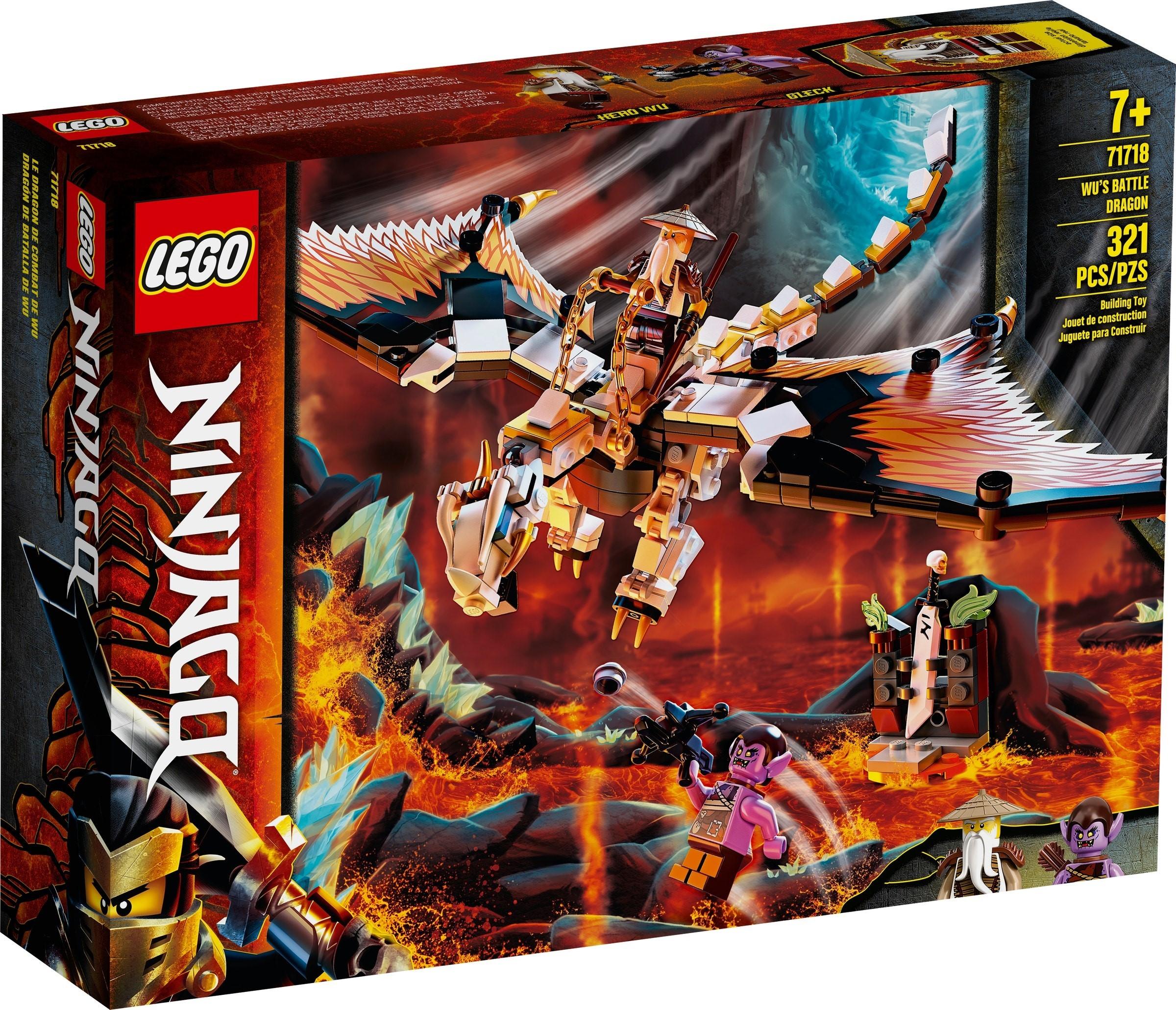 LEGO WU'S BATTLE DRAGON - 71718 • Thomas Moore