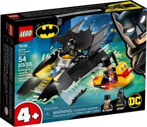 LEGO BATBOAT: THE PENGUIN PURSUIT - 76158