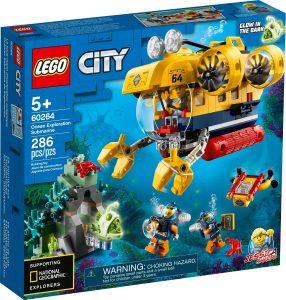LEGO OCEAN EXPLORATION SUBMARINE - 60264