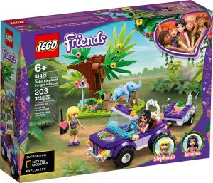 LEGO BABY ELEPHANT JUNGLE RESCUE - 41421