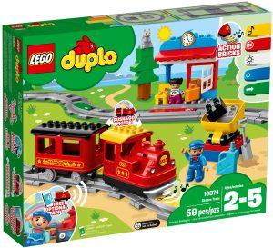 LEGO STEAM TRAIN - 10874