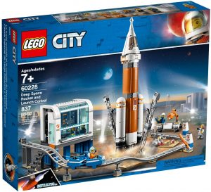 LEGO DEEP SPACE ROCKET AND LAUNCH CONTROL - 60228