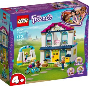 LEGO 4+ STEPHANIES HOUSE -  41398