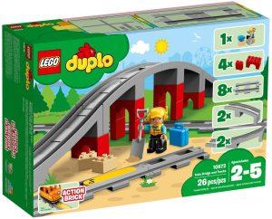 LEGO TRAIN BRIDGE AND TRACKS - 10872