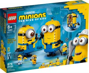 LEGO BRICK BUILT MINIONS & LAIR - 75551