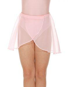 Georgette Wrapover Skirt