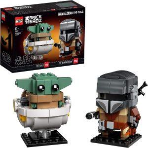 LEGO BRICKHEADS THE MANDALORIAN AND THE CHILD - 75317