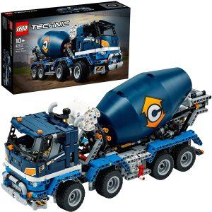 LEGO CONCRETE MIXER TRUCK - 42112