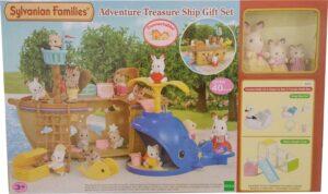 Sylvanian Families - Adventure Treasure Ship Gift Set