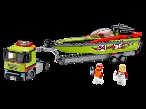 LEGO RACE BOAT TRANSPORTER - 60254