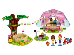 LEGO NATURE GLAMPING - 41392