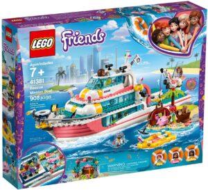 LEGO RESCUE MISSION BOAT - 41381