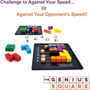 The Genius Square - STEM puzzle game by The Happy Puzzle Company