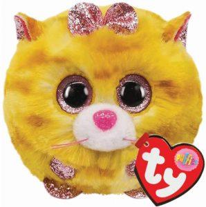 Ty UK Ltd 42507 Tabitha Cat Puffies Plush Toy, Multicoloured, 7cm