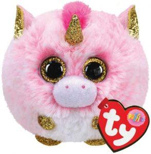 Ty UK Ltd 42508 Fantasia Unicorn Puffies Plush Toy, Multicoloured, 7cm