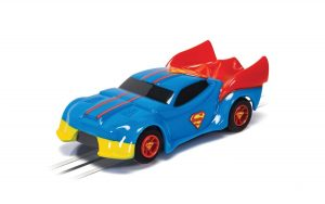 MICRO SCALEXTRIC - JUSTICE LEAGUE SUPERMAN CAR