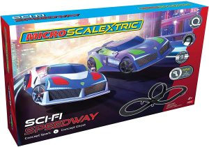 Scalextric G1133 Micro Sci-Fi Speedway Racing Set