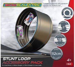 Micro Scalextric G8046 Track Extension Pack-Stunt Loop