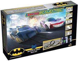 Micro Scalextric g1155 Batman vs Joker Race Set