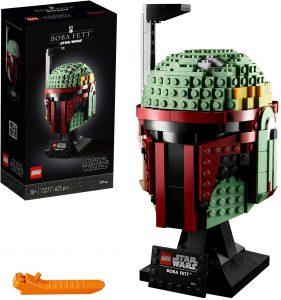 LEGO 75277 Star Wars Boba Fett Helmet Display