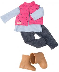 OUR GENERATION - TREKKING STAR OUTFIT